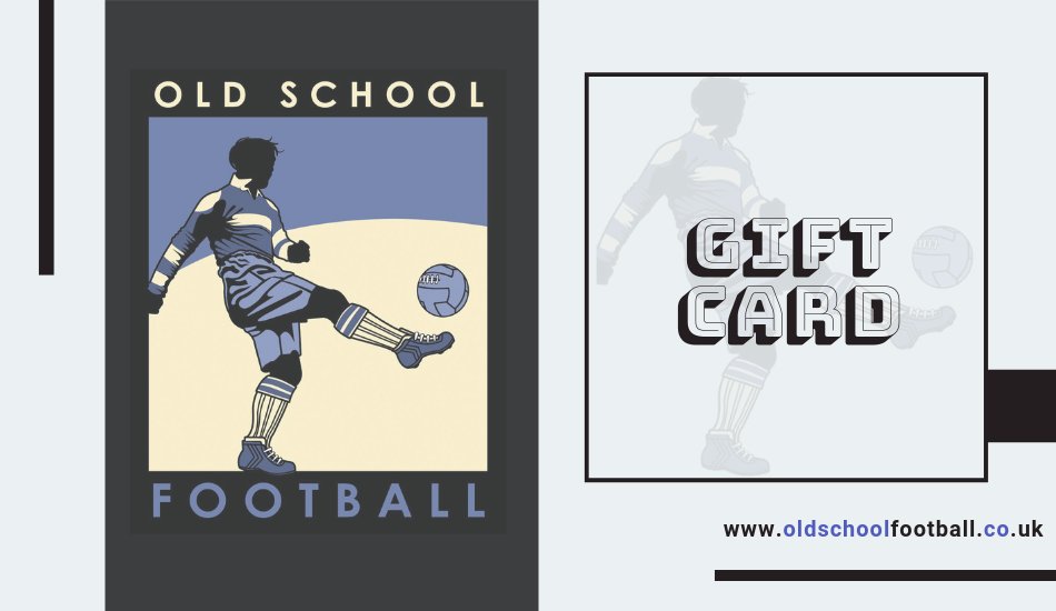 Gift Card Old School Football - Gift Card