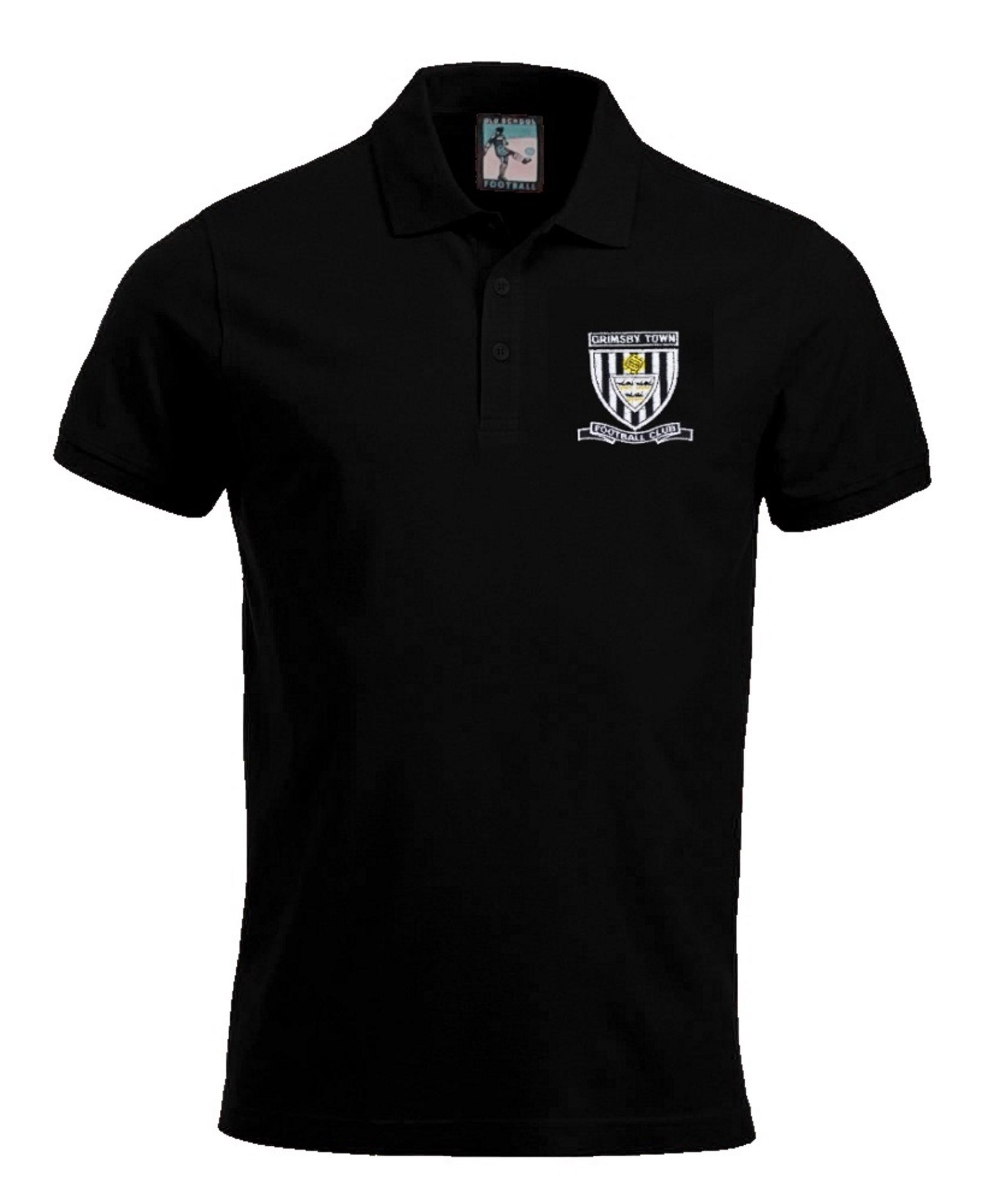 Grimsby Town Retro Football Polo Shirt 1960s - Polo