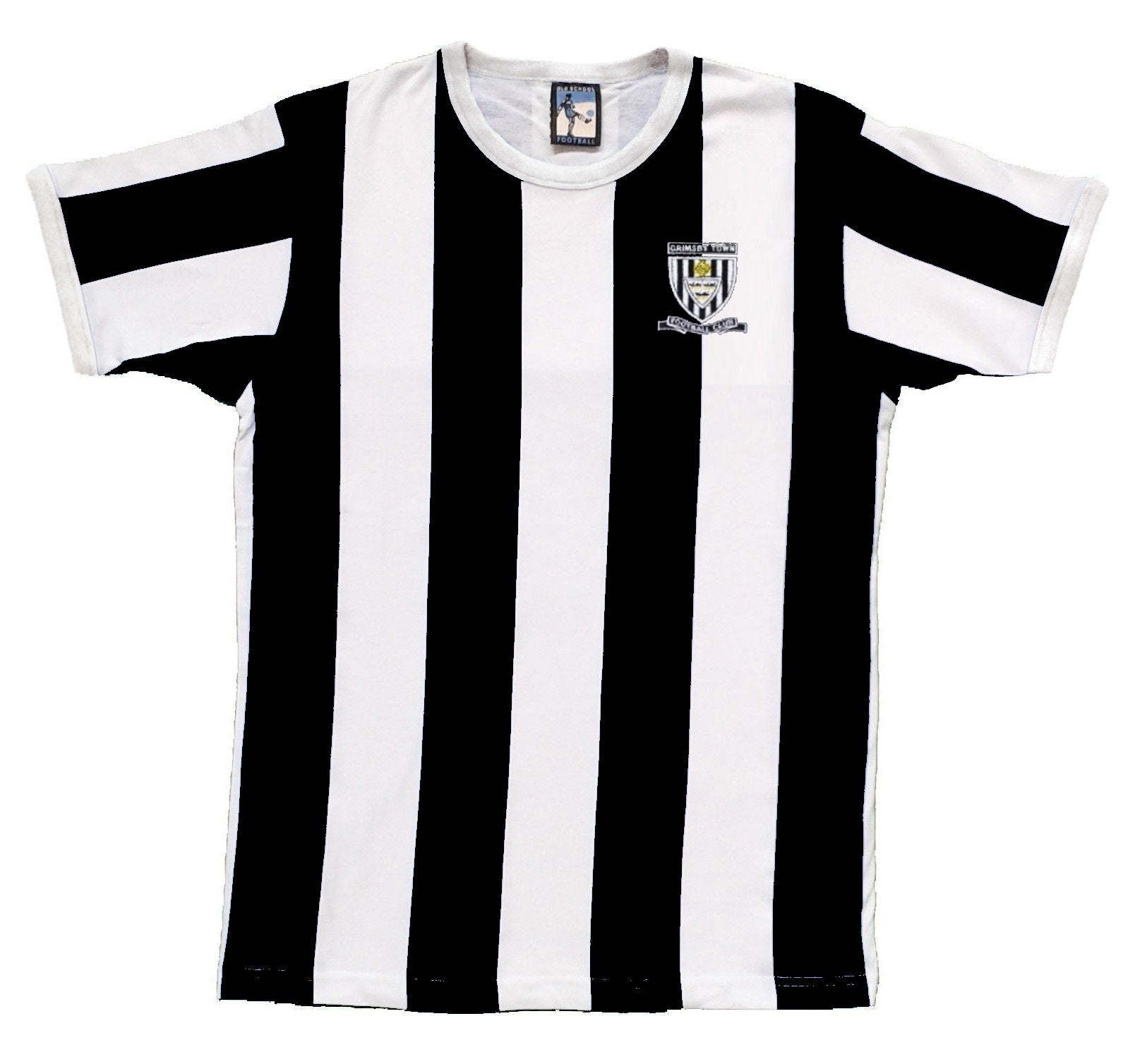 Grimsby Town Retro Football T Shirt 1971 - 1972 - Old School Football