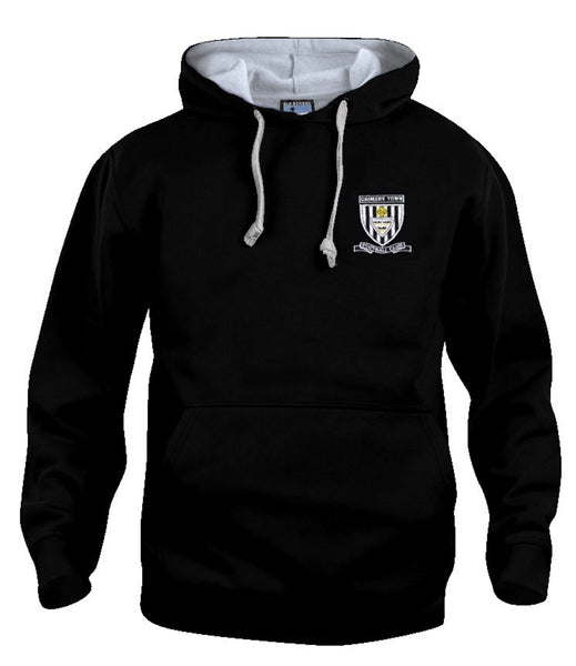 Grimsby Town Retro Football Hoodie - Old School Football