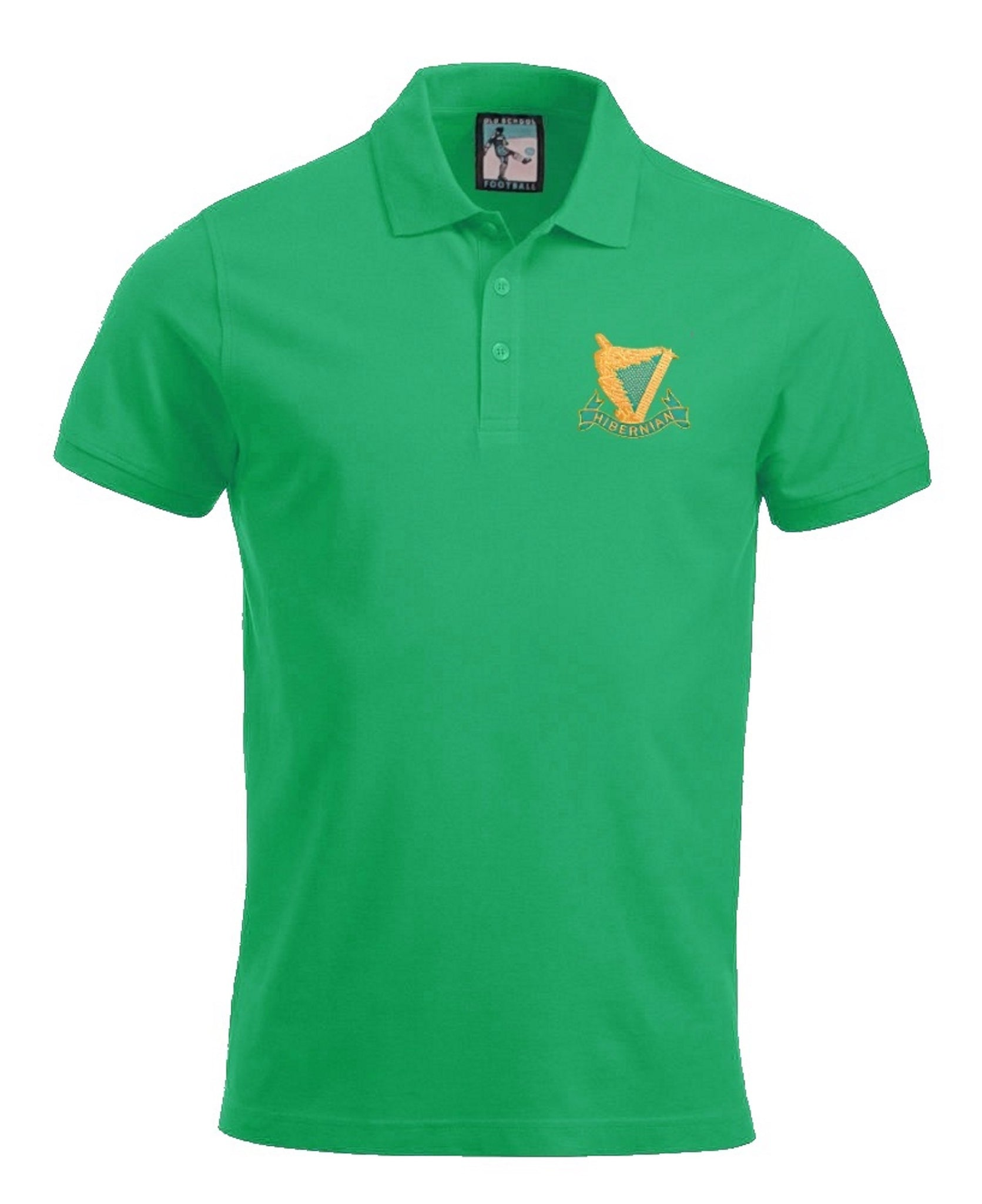 Hibernian Harps Retro 1900's Football Polo Shirt - Polo