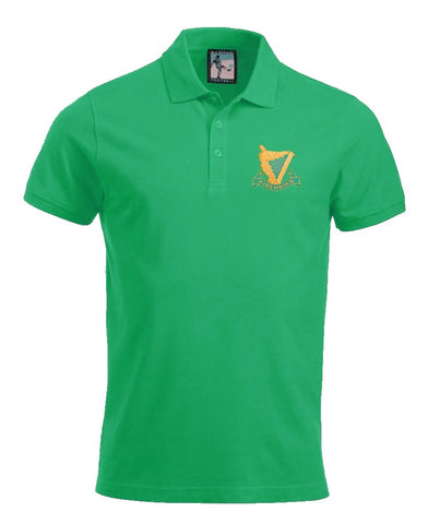 Hibernian Harps Retro Football Polo Shirt 1900's - Polo