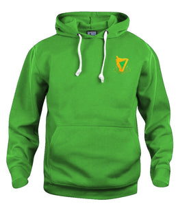 Hibernian Harps Retro Football Hoodie 1900s - Old School Football