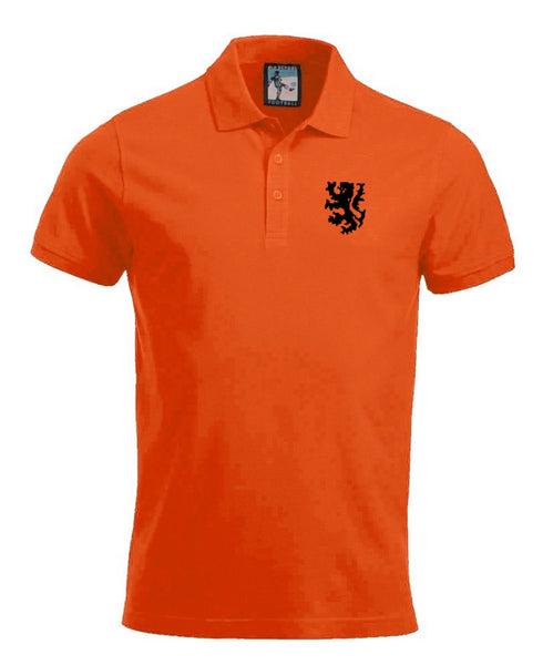 Holland Retro Football Polo Shirt 1970s Netherlands - Polo
