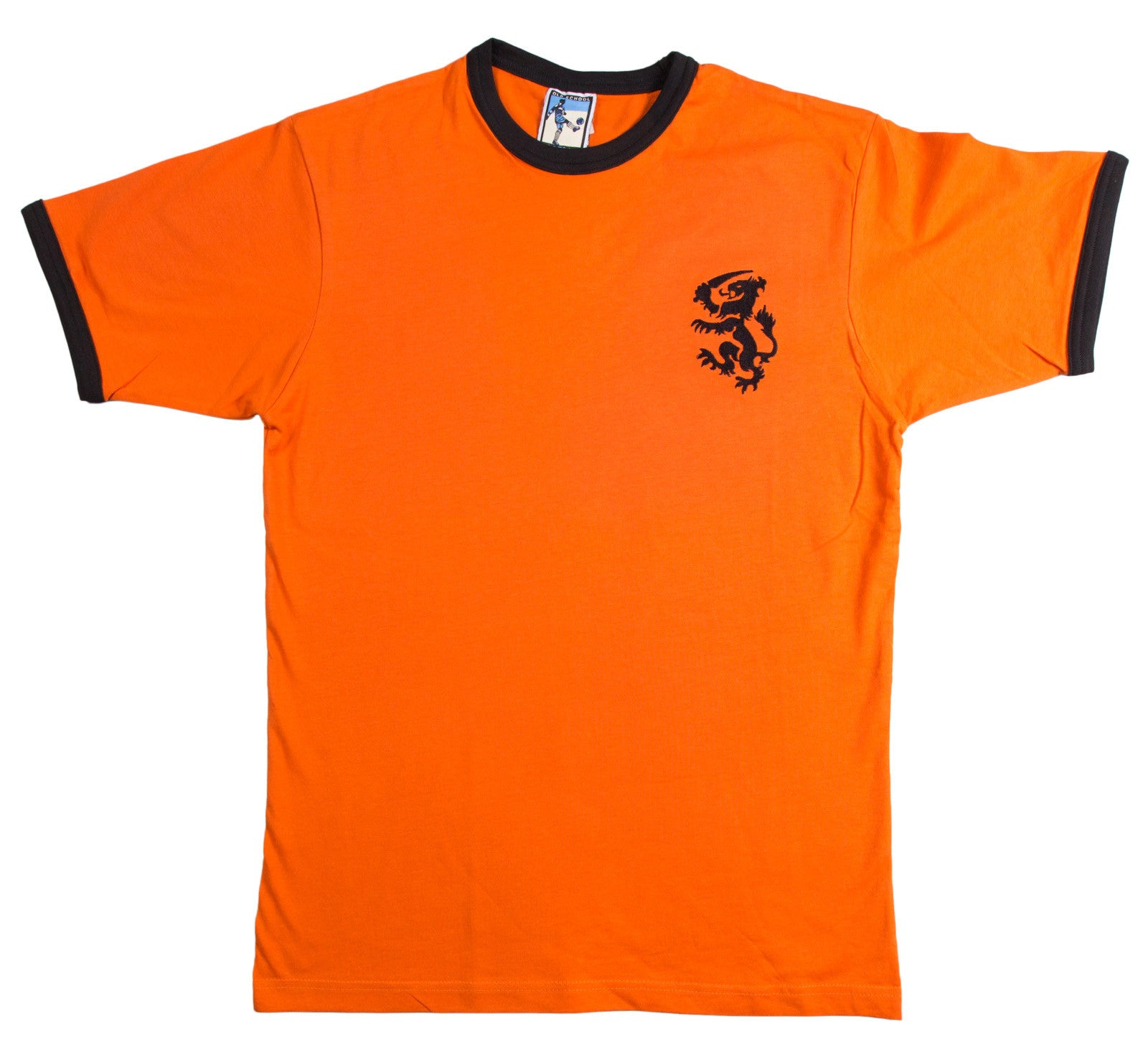Holland Retro Football T Shirt 1974 Netherlands - T-shirt