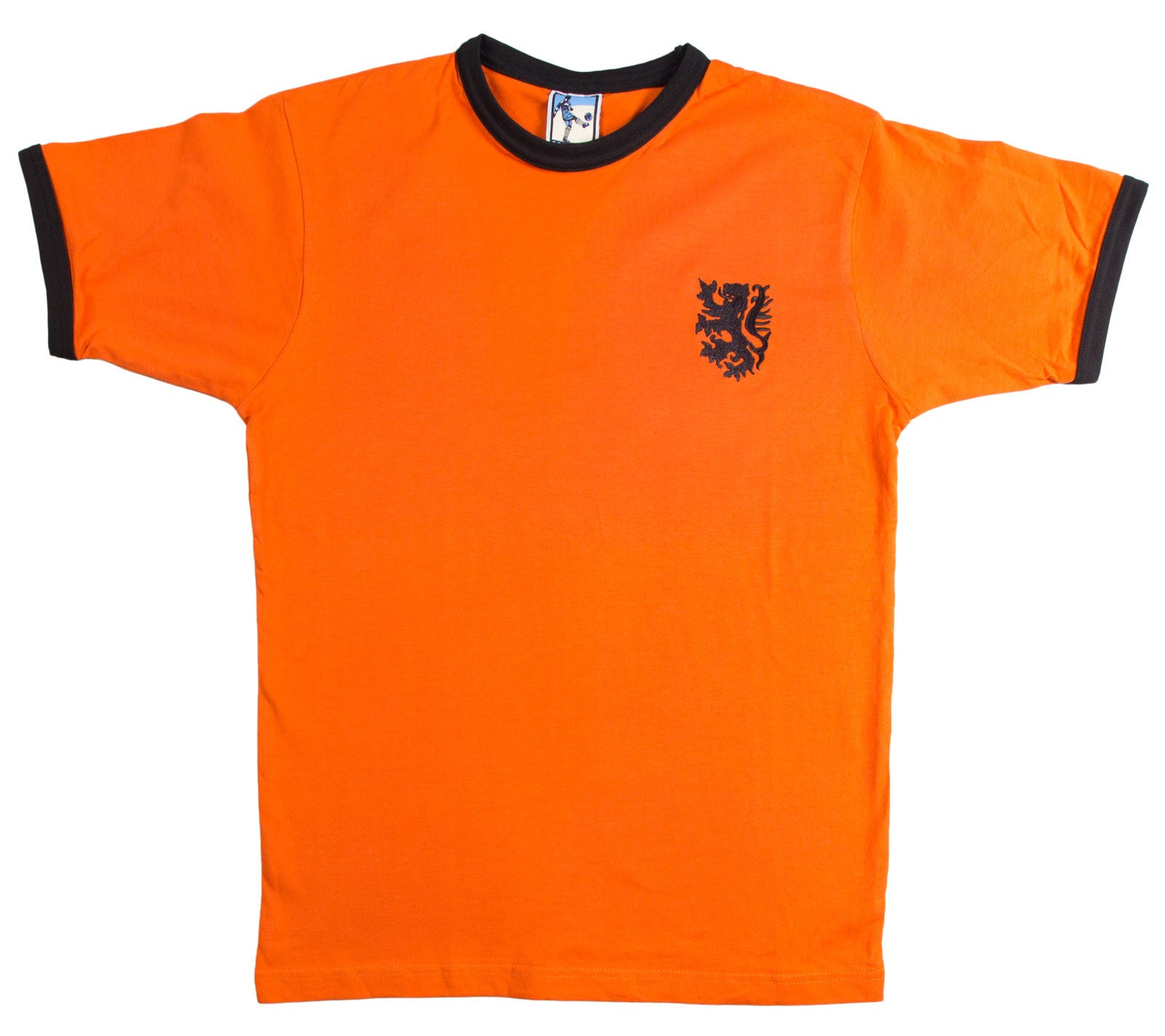 info for 0fd08 946db Holland Retro Football T Shirt 1970s Netherlands