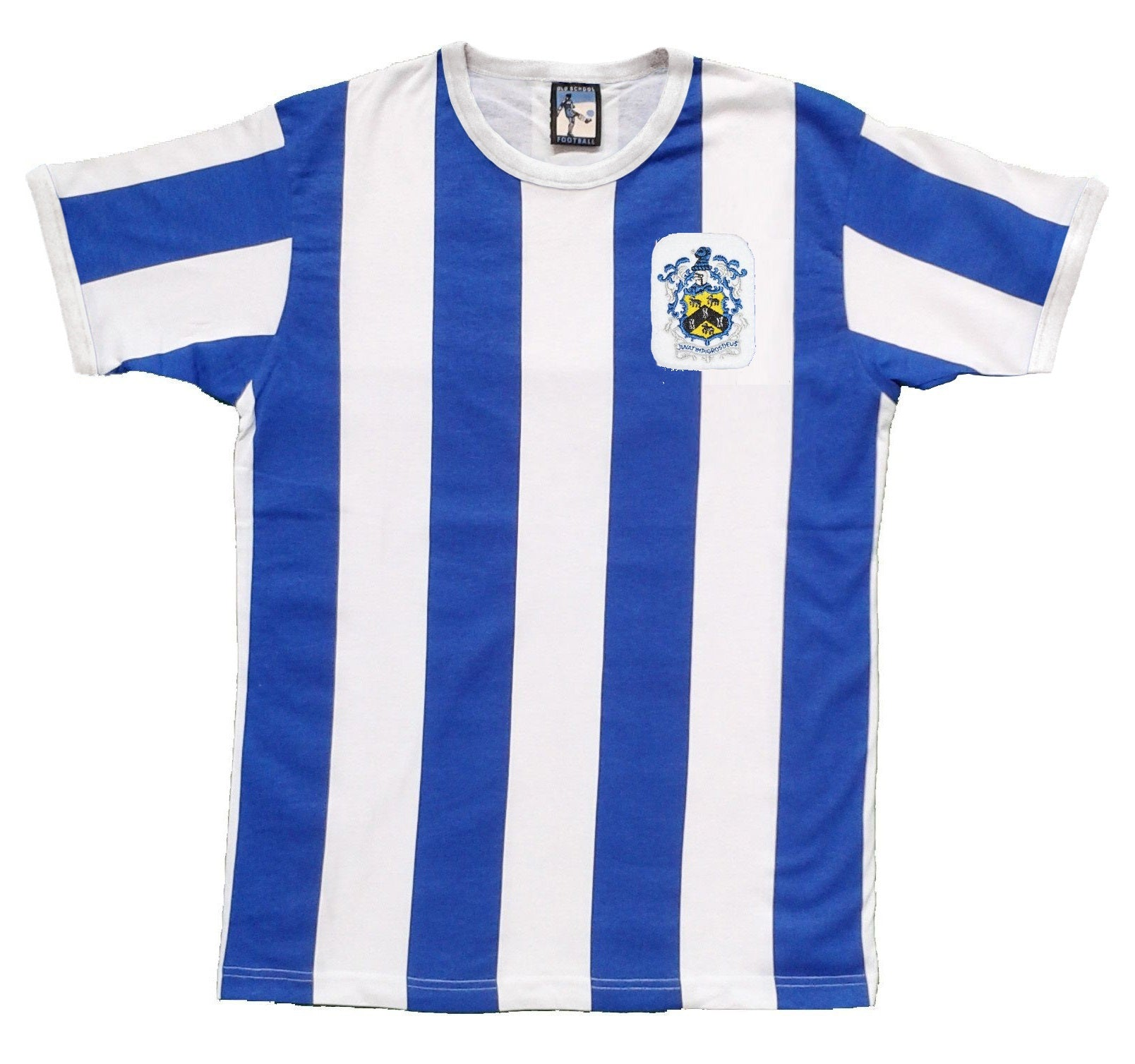 Huddersfield Town Retro Football T Shirt 1950 - T-shirt