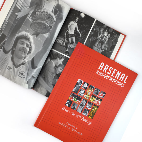 Football Book - Your Team A History In Pictures - Gift Book