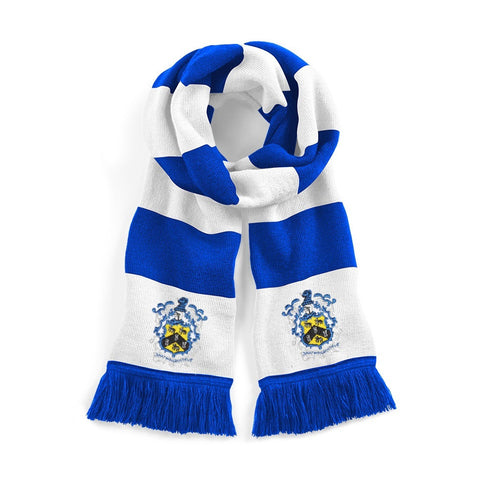 Huddersfield Town Retro Football Scarf 1950s - Old School Football