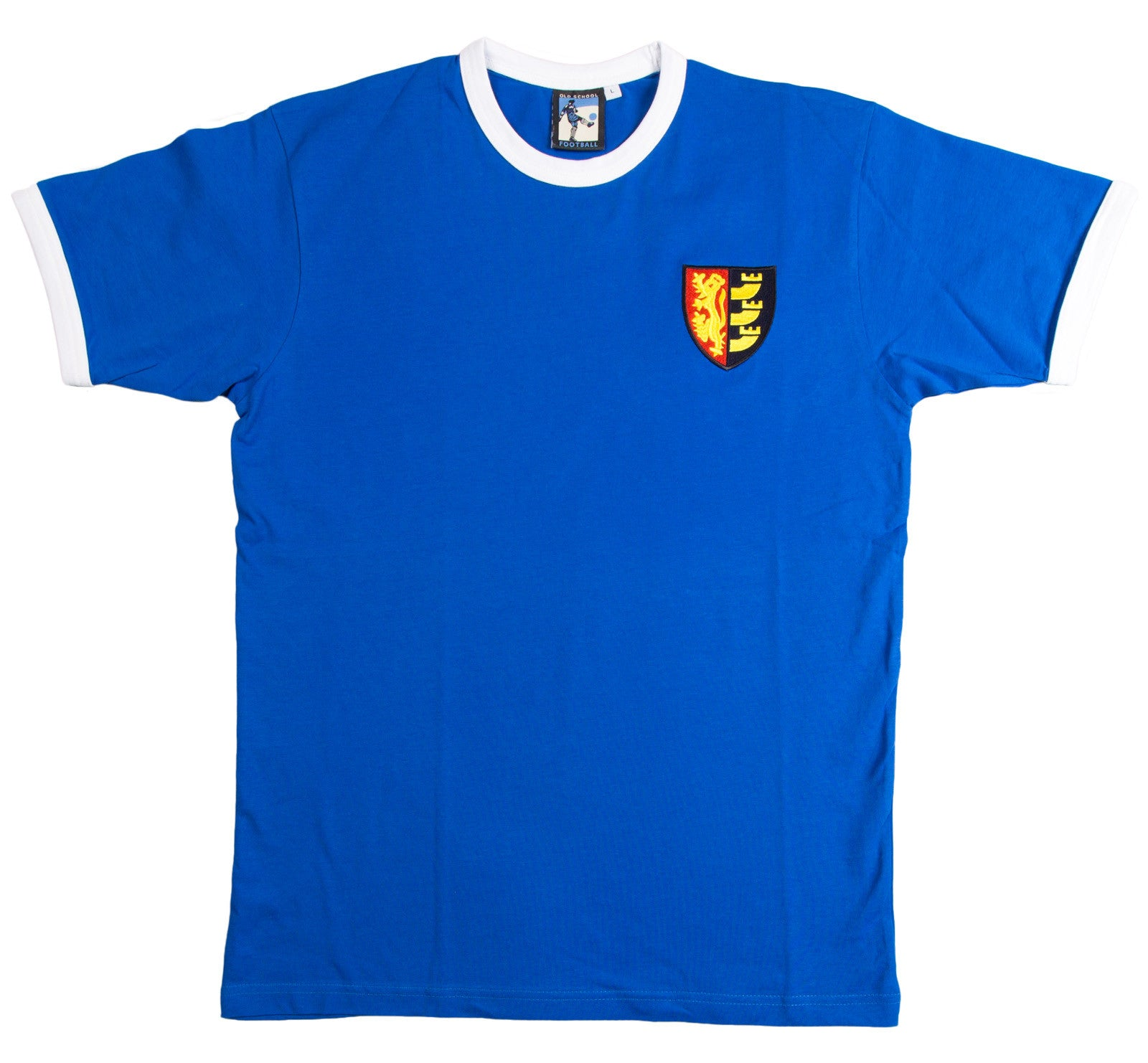 Ipswich Town Retro Football T Shirt 1960s - 1970s - Old School Football