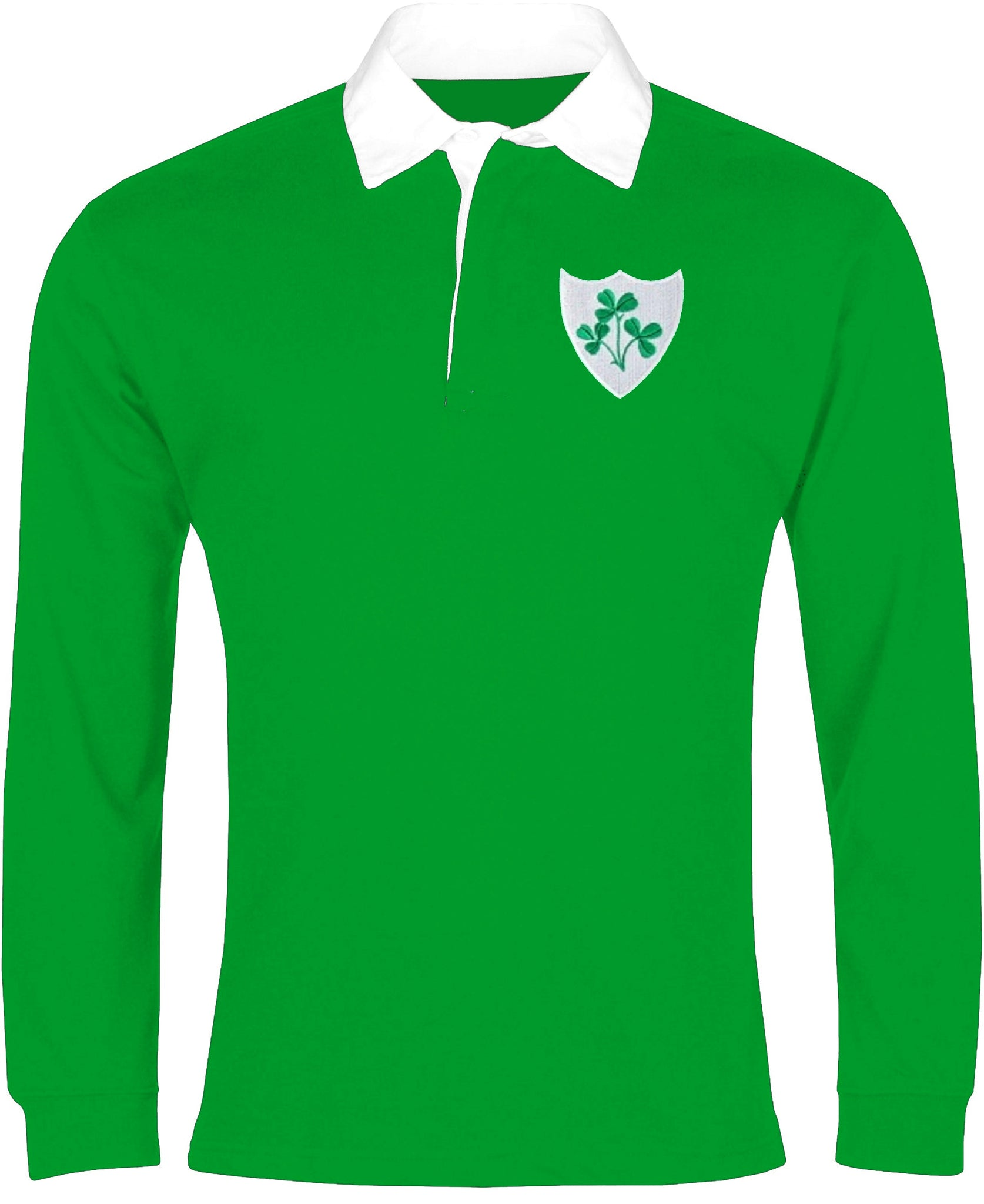 Ireland Retro Rugby Shirt Long-sleeved - Rugby Shirt