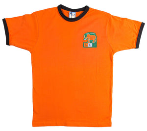 Ivory Coast Retro Football T Shirt 1980s - T-shirt