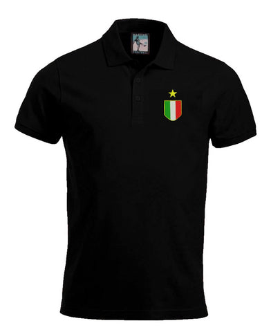 Juventus Retro 1972 - 1976 Football Polo Shirt - Polo