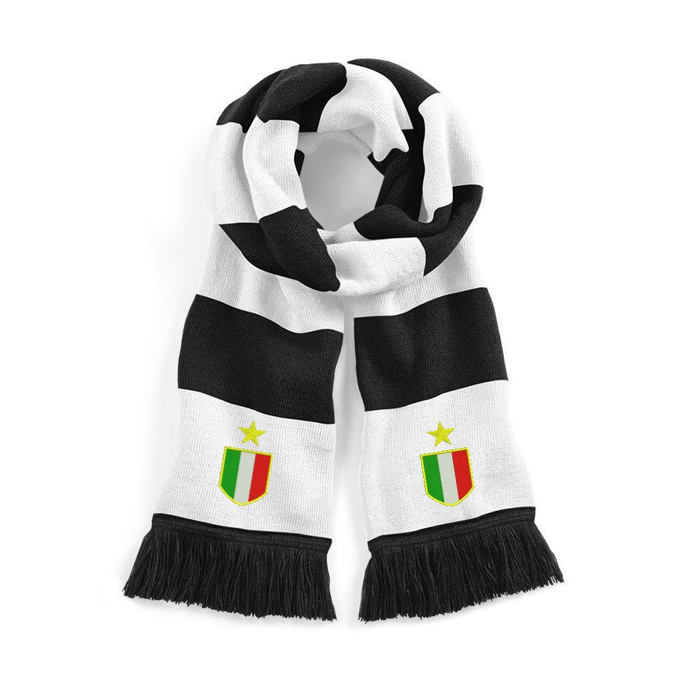 Juventus Retro 1970s Football Scarf - Scarf