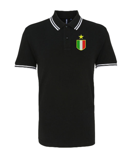 Juventus Retro Football Iconic Polo 1972-1976 - Polo