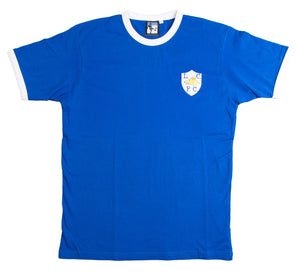 Leicester City Retro Football T Shirt 1946 - 1952 - T-shirt