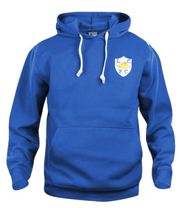 Leicester City Retro Football Hoodie - Hoodie