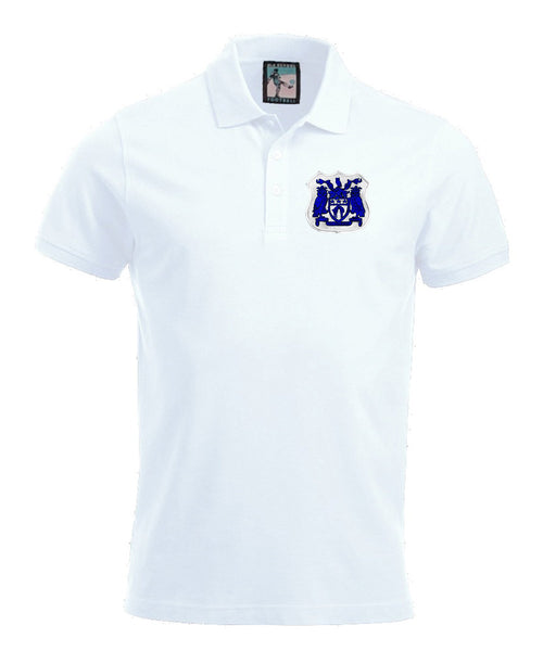 Leeds United Retro Football Polo Shirt 1950s - Polo