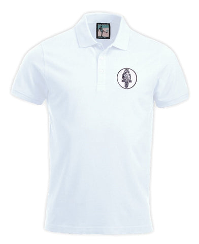 Leeds United Retro Football Polo Shirt 1960s - Polo