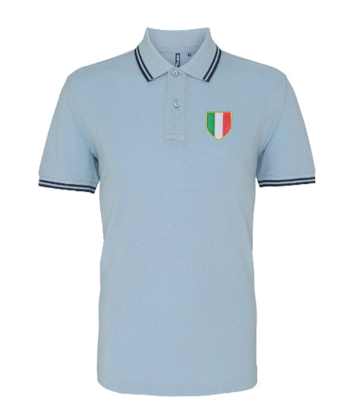 S.S. Lazio Retro Football Iconic Polo 1970s - Polo