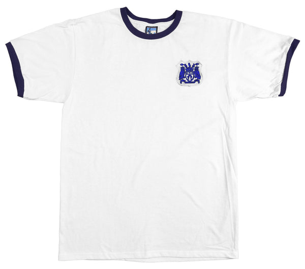Leeds United Retro Football T Shirt 1950s - T-shirt