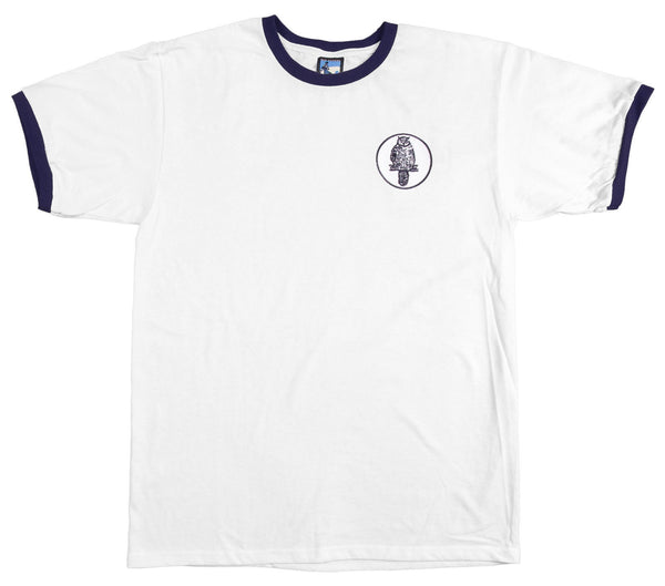 Leeds United Retro Football T Shirt 1960s - T-shirt
