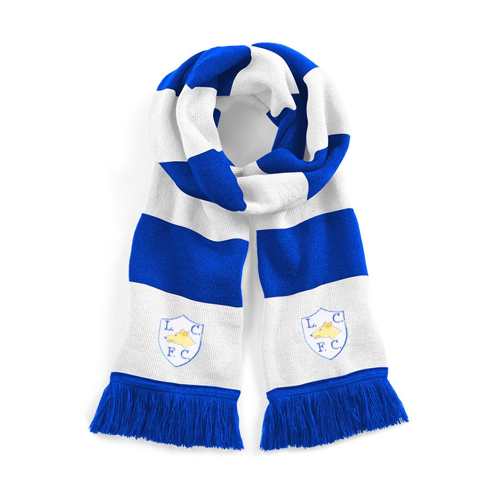 Leicester City Retro Scarf - Old School Football