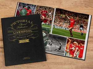 Deluxe Leather Pictorial Football Book - Gift Book