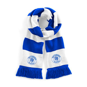 Macclesfield Town Retro 1960s Traditional Football scarf - Scarf