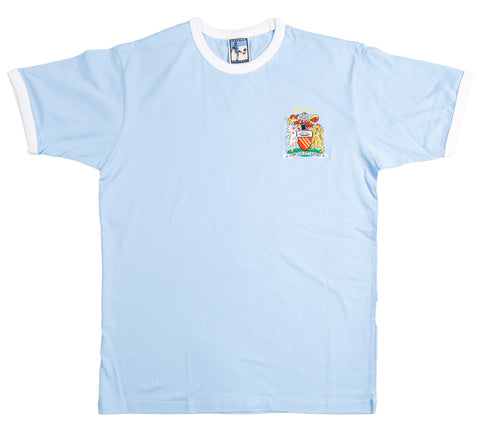 Manchester City Retro 1976 - 1981 Football T-Shirt - T-shirt