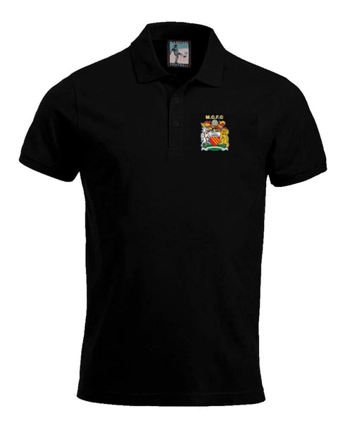 Manchester City 1976 - 1981 Polo - Old School Football