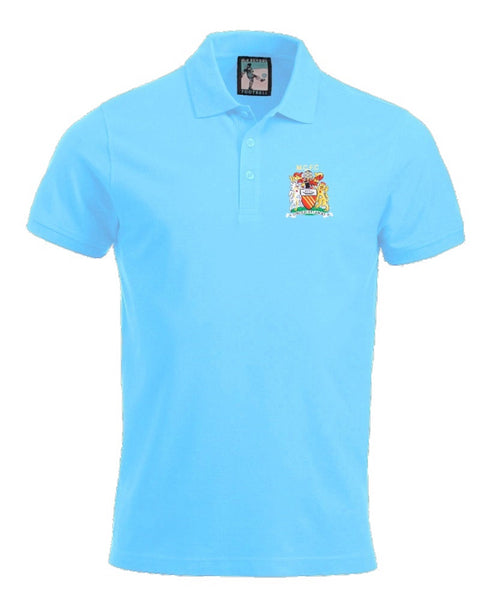Manchester City 1976-1981 Polo - Old School Football