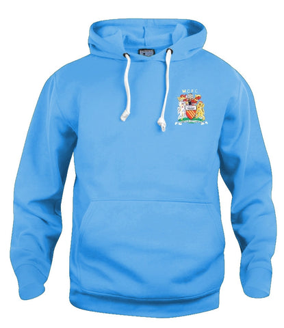Manchester City Retro 1976 - 1981 Football Hoodie - Hoodie