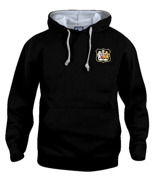 Manchester City Retro Football Hoodie 1940s - 1950s