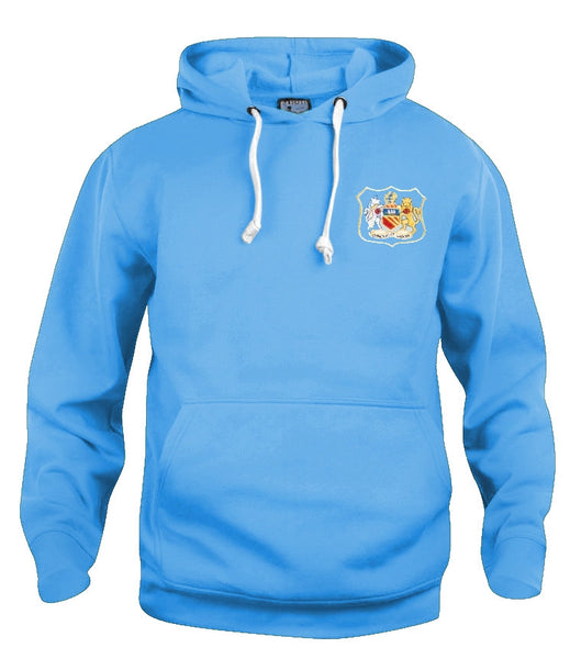 Manchester City Retro Football Hoodie 1940s - 1950s - Hoodie