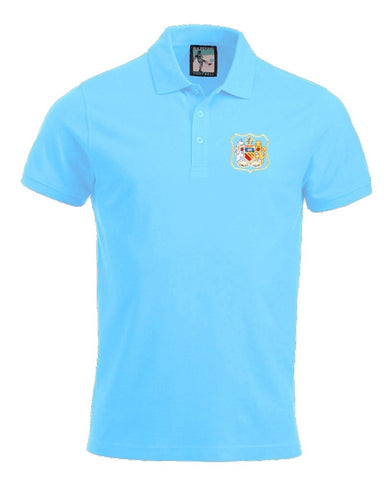 Manchester City Retro 1940s Football Polo Shirt - Polo
