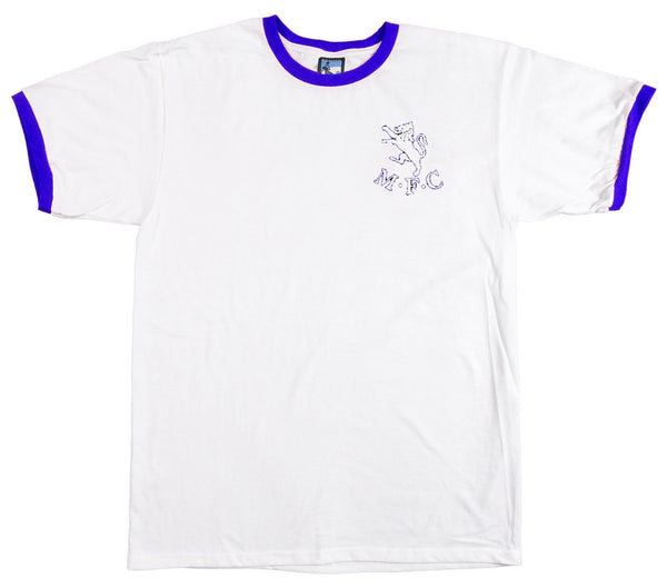 Millwall Retro Football T Shirt 1936 - 1956 - T-shirt