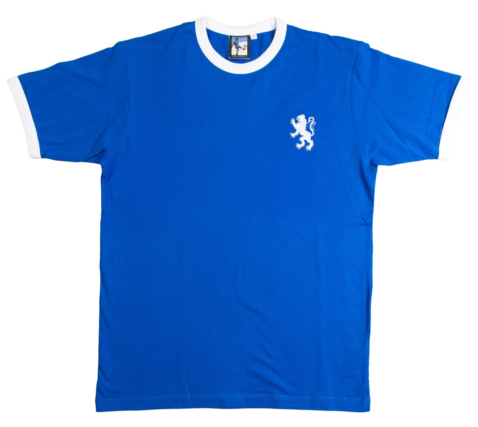Millwall Retro Football T Shirt 1970s - T-shirt