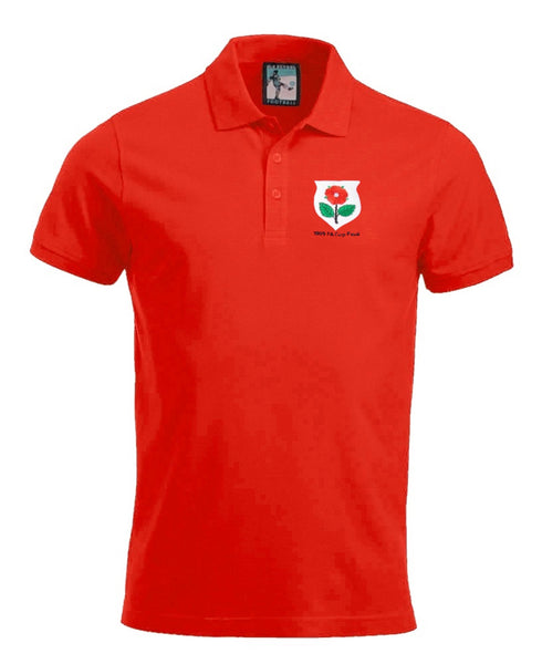 Manchester United Retro 1909 Football Polo Shirt - Polo