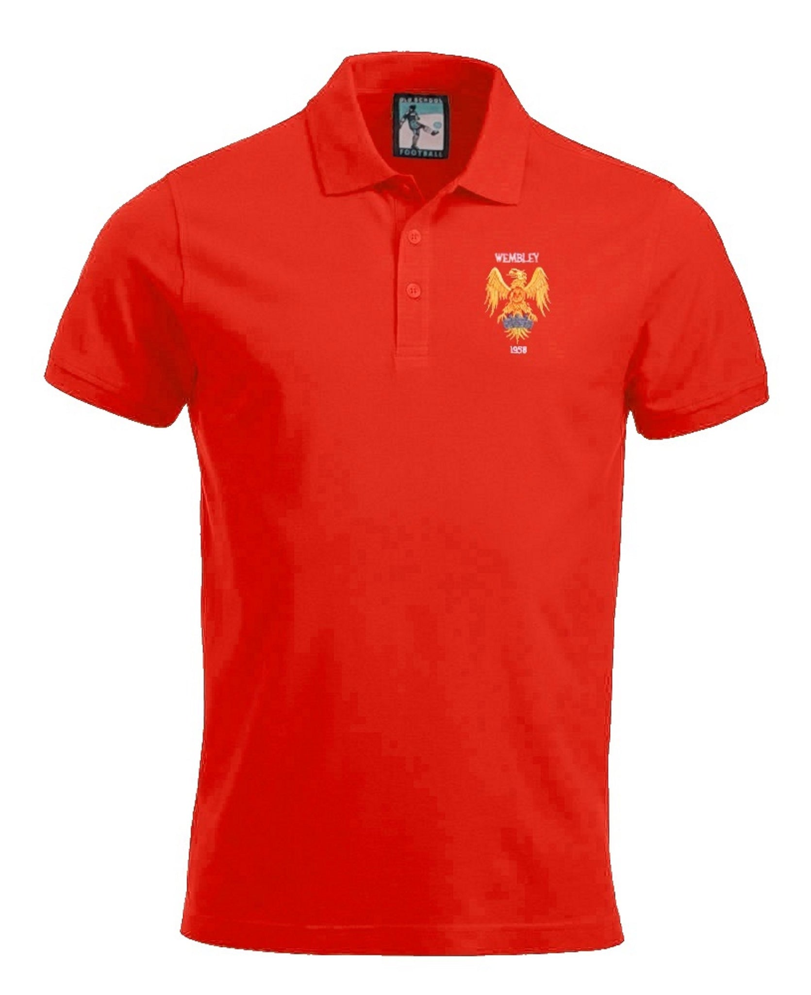 Manchester United 1958 Polo - Old School Football