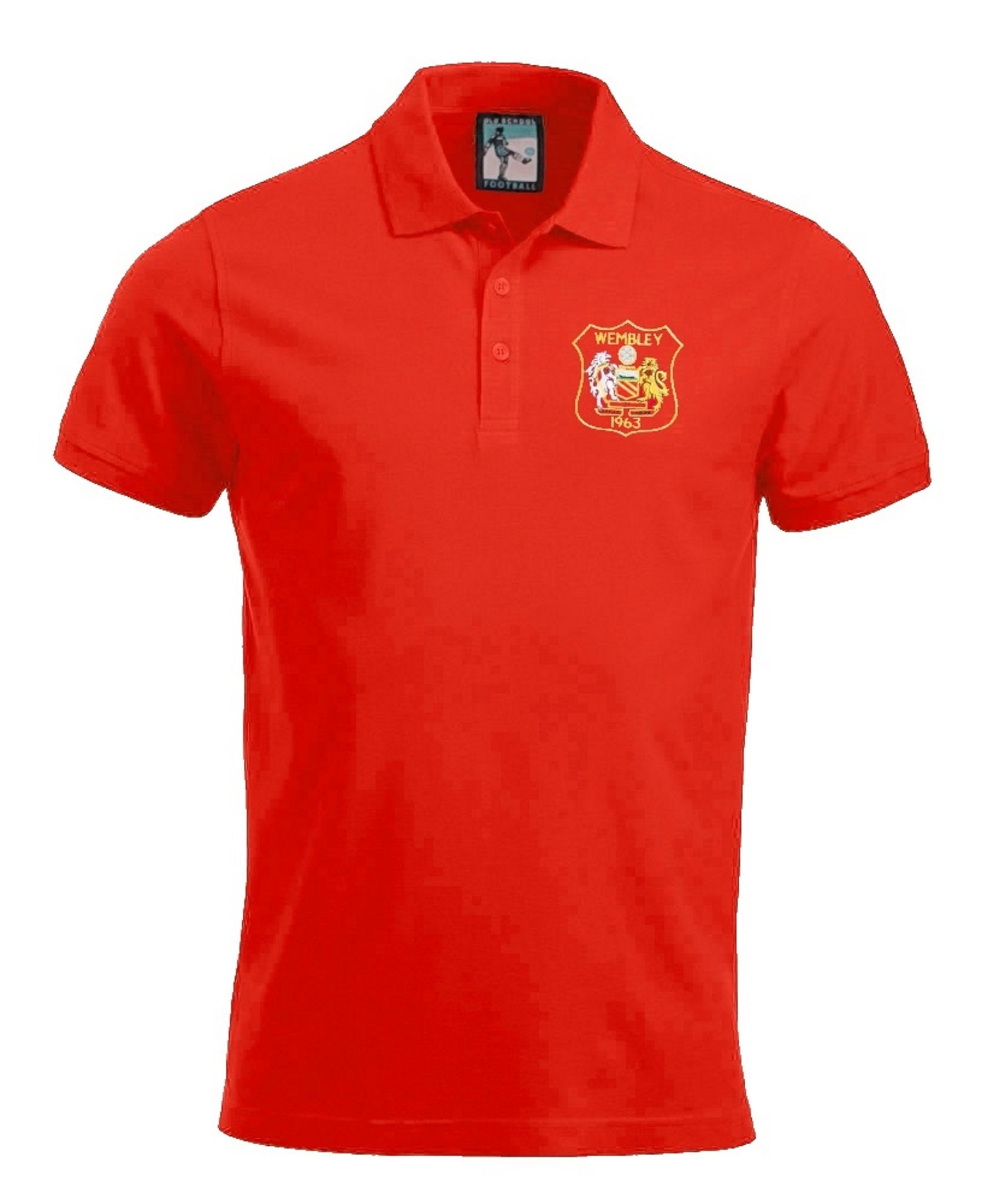 Manchester United 1963 Polo - Old School Football