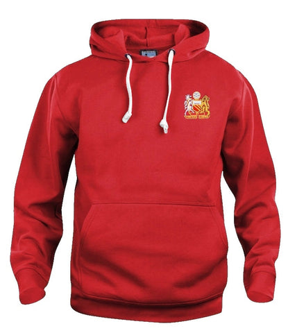 Manchester United Retro Football Hoodie 1970s - Hoodie