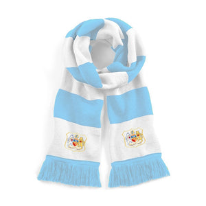 Manchester City Retro Football Scarf - Old School Football