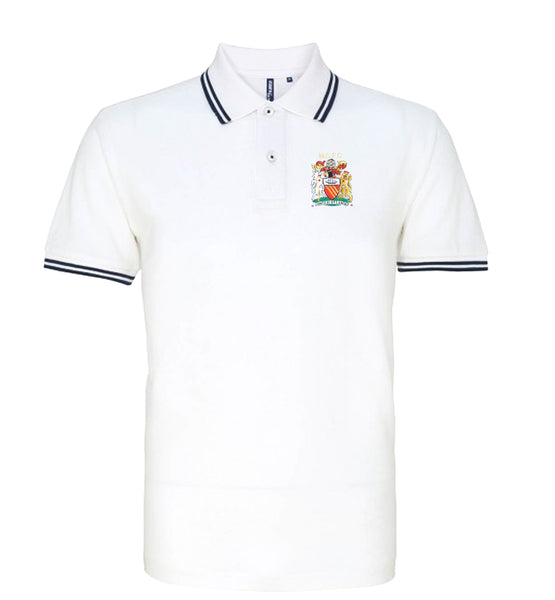 Manchester City Retro Football Iconic Polo 1976-1981 - Polo