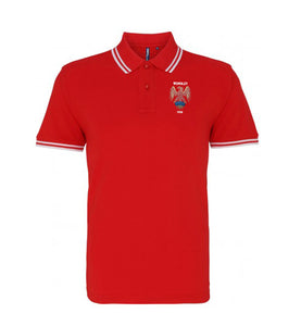 Manchester United Retro Football Iconic Polo 1958 - Polo