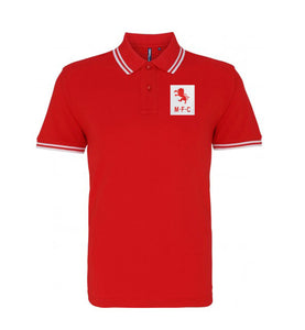 Middlesbrough Retro Football Iconic Polo 1950s - Polo