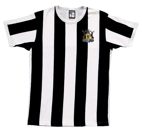 Notts County Retro Football T Shirt 1960s - 1970s - T-shirt