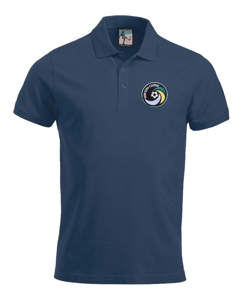 Men's Clothing New York Cosmos Umbro Polo Shirt Light Dark Blue Retro Football Jersey S-xxl Activewear