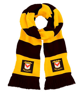 Newport County Retro 1960s Traditional Football Scarf - Scarf