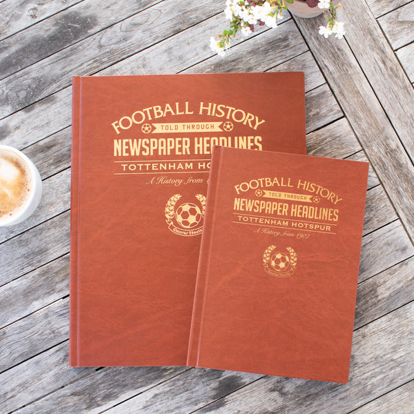 Football Newspaper Book - A4 With Colour Pages - Gift Book